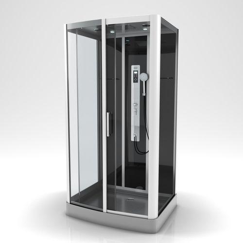 Aurlane douchecabine Premium 2 rechthoek 115x90cm