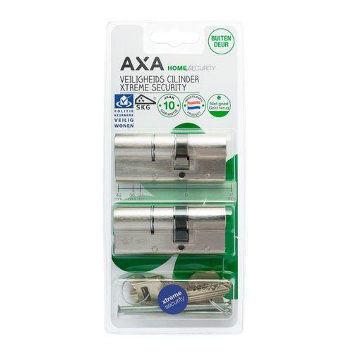 AXA profielcilinder SKG3 Xtreme verlengd 30-45 2st.