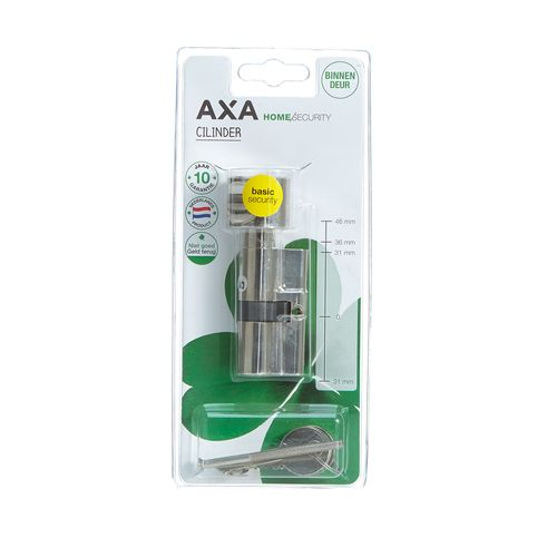 AXA knopcilinder universeel 30-30