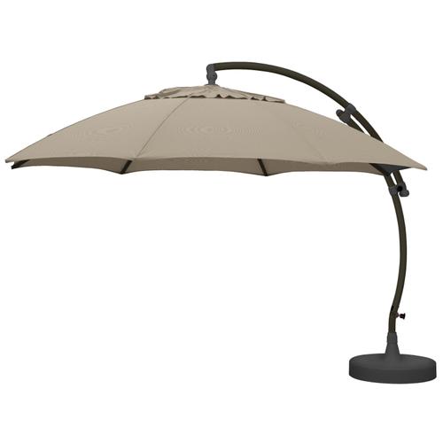 Sungarden parasol Easy Sun XL lichte taupe + voet