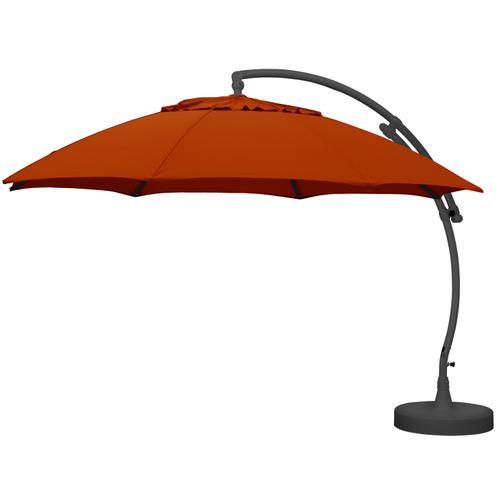 Sungarden parasol Easy Sun XL terracotta + voet
