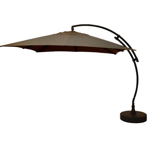 Sungarden parasol Easy Sun taupe + voet