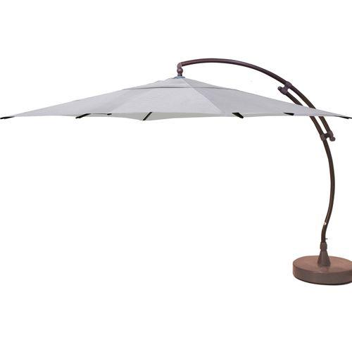 Sungarden parasol Easy Sun grijs titanium + voet