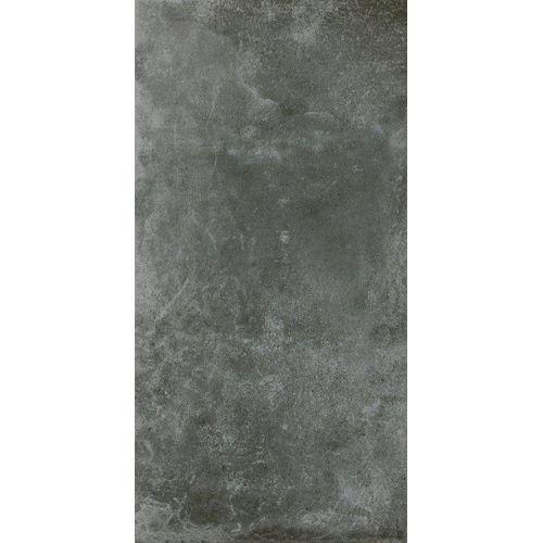Carrelage sol et mur Roberto noir 35,5x71cm