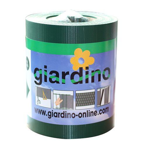 Giardino vlechtband met clips groen 19cm