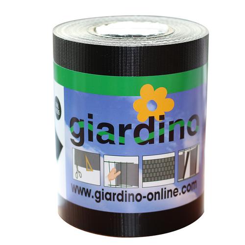 Giardino lint met clips zwart 19cm