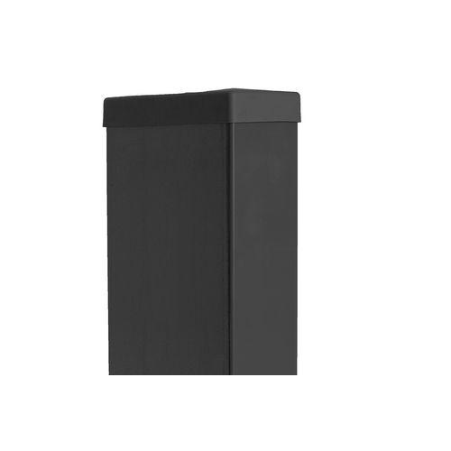 Giardino tuinpaal zwart 6x12x240cm
