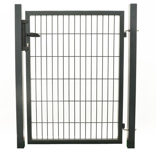 Giardino enkele poort grijs 100x120cm