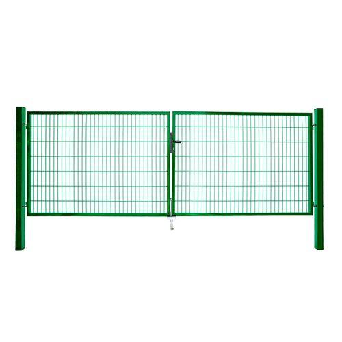 Giardino dubbele poort groen 200x200cm