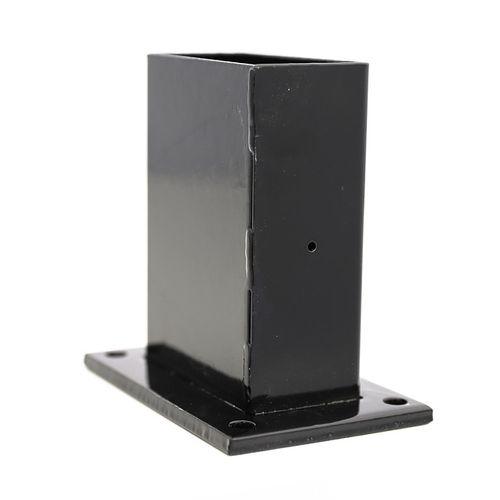 Giardino voet zwart 6x12cm