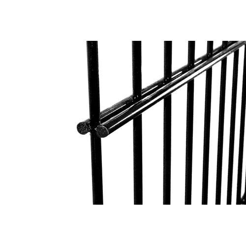 Giardino dubbelstaafs draadpaneel 123X220cm zwart
