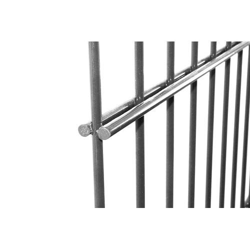 Giardino dubbelstaafs draadpaneel grijs 203X220cm