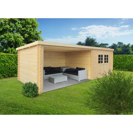Solid tuinhuis 'Rohan' hout 7,53 m²