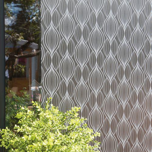 Transform premium statische glasfolie Art deco 67,5x150cm