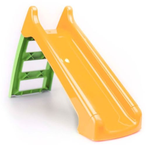Paradiso Toys kleine glijbaan groen/oranje 1,24m