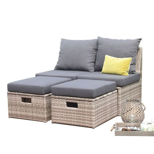 Loungeset Trinidad wicker beige