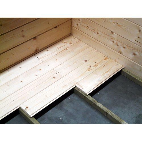 Plancher pour abris Solid 'S8523-1' bois 10 m²