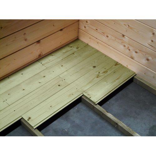 Plancher pour abris Solid 'S8521-1' bois 5 m²