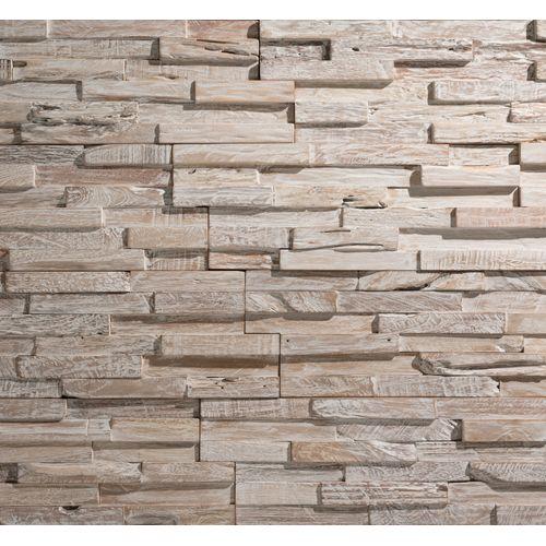 Klimex houtstrips UltraWood White Wash teak FSC 0,09m²