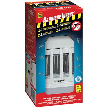 Lampe insecticide insectes volants Compo 'Barrière insect'