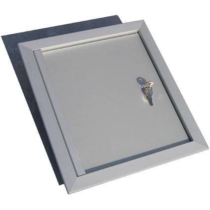 Porte boite aux lettres VASP aluminium 44 x 54 cm