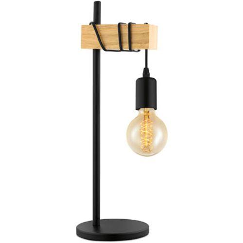 EGLO tafellamp Townshend zwart 10W