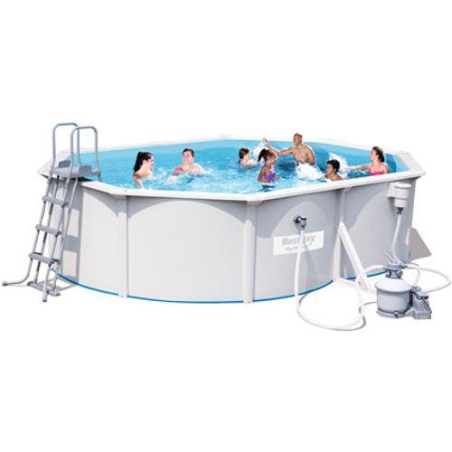 Bestway opzetzwembad Jersey set ovaal 500cm