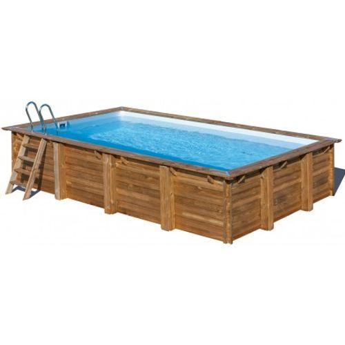 Bestway opzetwembad Loire grenen rechthoek 800x400x146cm