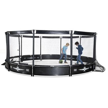 Exit arena voor panna met net 'Pannafield' rond 488 cm
