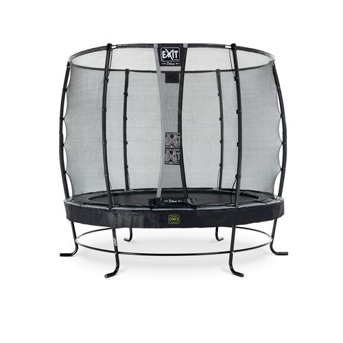 Exit trampoline Elegant Premium + veiligheidsnet Deluxe ø253cm zwart