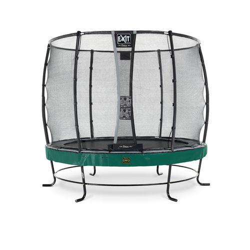 Exit trampoline Elegant Premium + veiligheidsnet Deluxe ø253cm groen