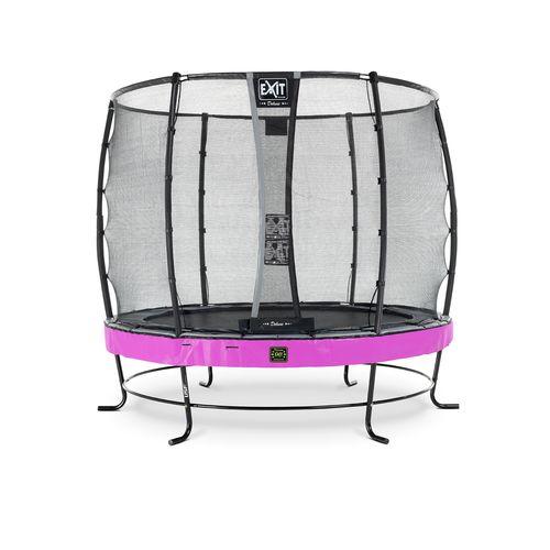 Trampoline Exit Elegant Premium ø253cm avec filet de sécurité Deluxe violet