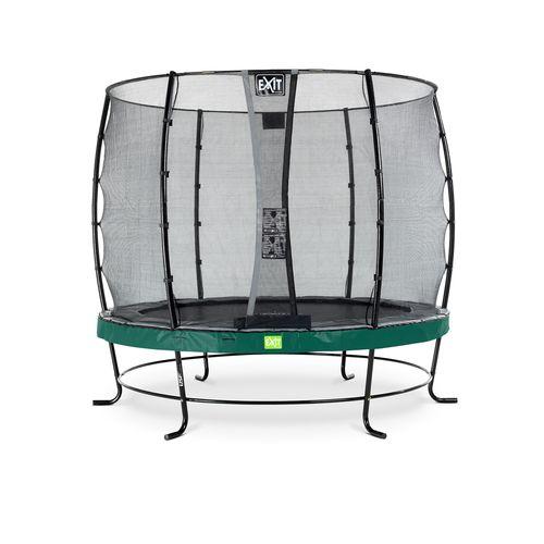 Exit trampoline Elegant + veiligheidsnet Economy ø253cm groen