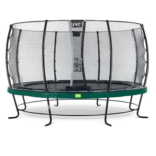 Exit trampoline Elegant + veiligheidsnet Economy ø427cm groen