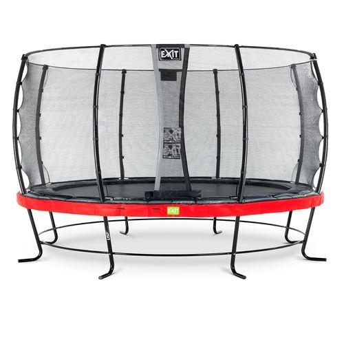 Exit trampoline Elegant + veiligheidsnet Economy ø427cm rood