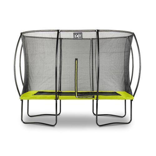 Exit trampoline Silhouette 214x305cm groen