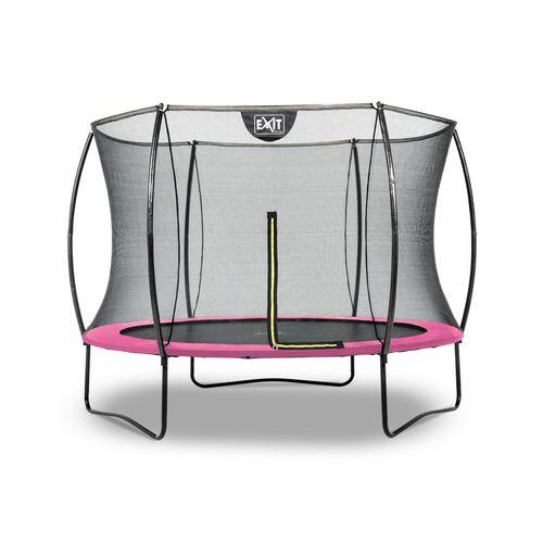 Exit trampoline Silhouette ø244cm roze