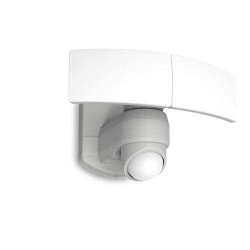 Lutec LED buitenspot Arc + bewegingsmelder wit 19W
