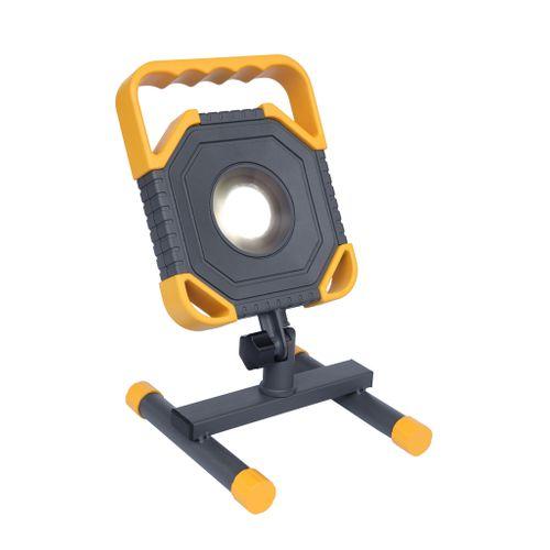 Lampe de chantier portable Lutec Modo anhtracite / jaune 21W