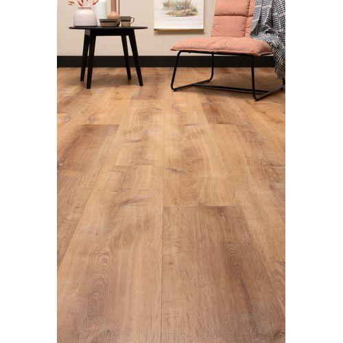 CanDo PVC-vloer De luxe Click goud eiken 7,5mm 1,86m²