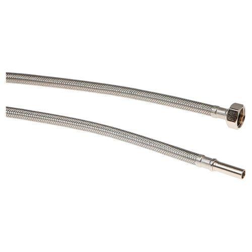 """Sanivesk flexibele slang 1/2""""F x 10mm 100cm"""