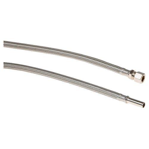 Sanivesk flexibele slang knel x buis 10x10mm 15cm
