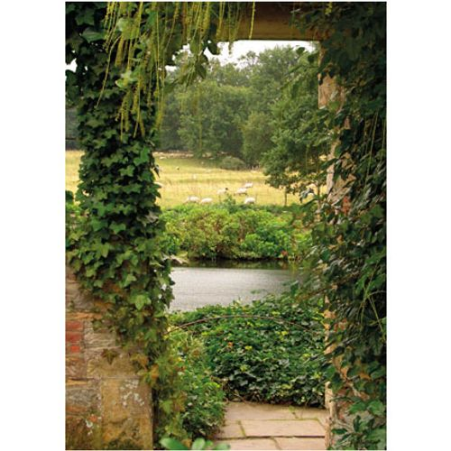 PB-Collection tuinschilderij Garden View Ivy 70x50cm