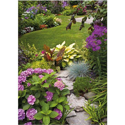 PB-Collection tuinschilderij English Garden View 70x50cm