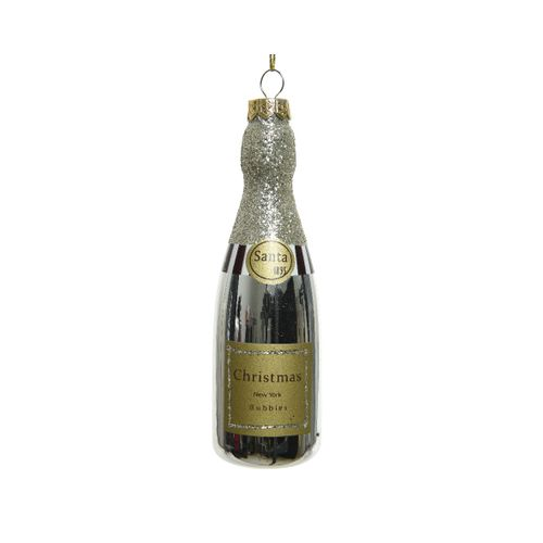 Pendentif champagne Decoris or 12cm