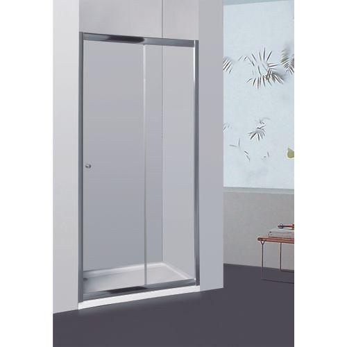 Allibert verstelbare schuifdeur Priva 126-131x190cm transparant