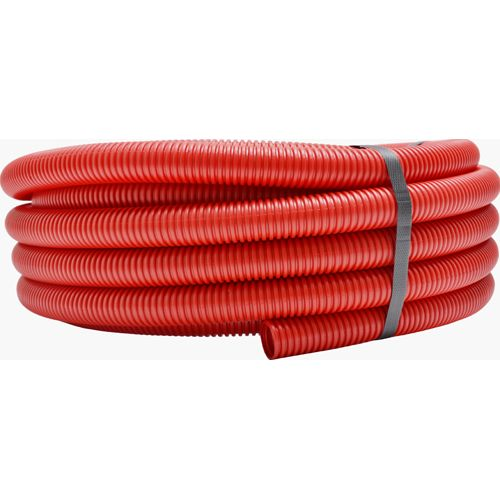 Sanivesk Meerlagenbuis Rol + Mantel rood 16mm 50m