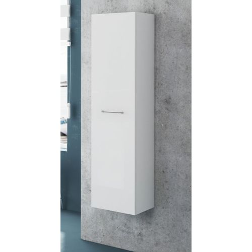 Colonne Royo 1 porte Clik blanc brillant 35x140cm