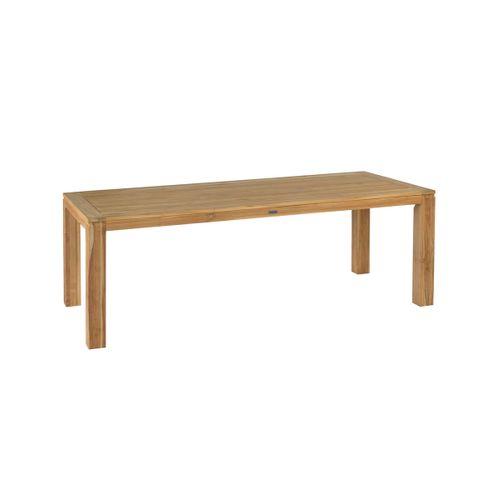 Table de jardin Exotan 'Stella teck brun 220 x 100 cm