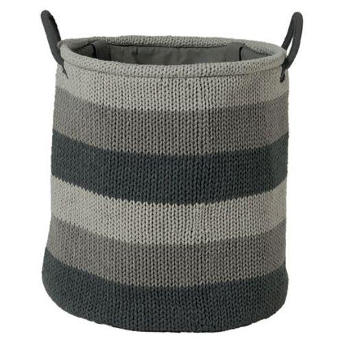 Sealskin wasmand 'Knitted' grijs 35 L